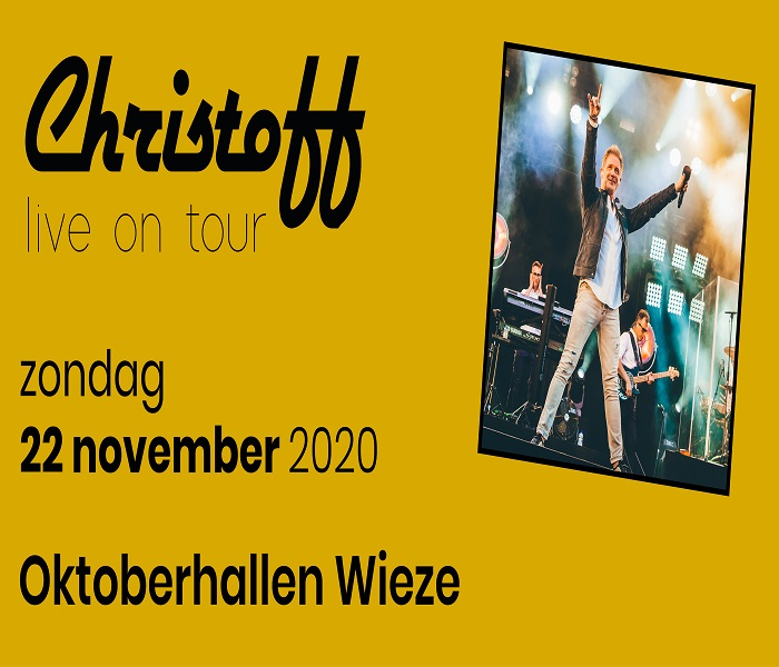 Christoff Live on tour