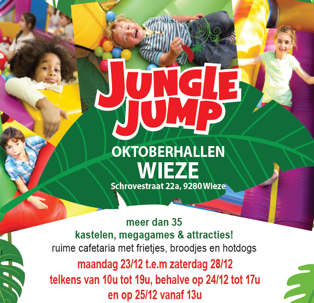 Jungle Jump Kersteditie (hal A)