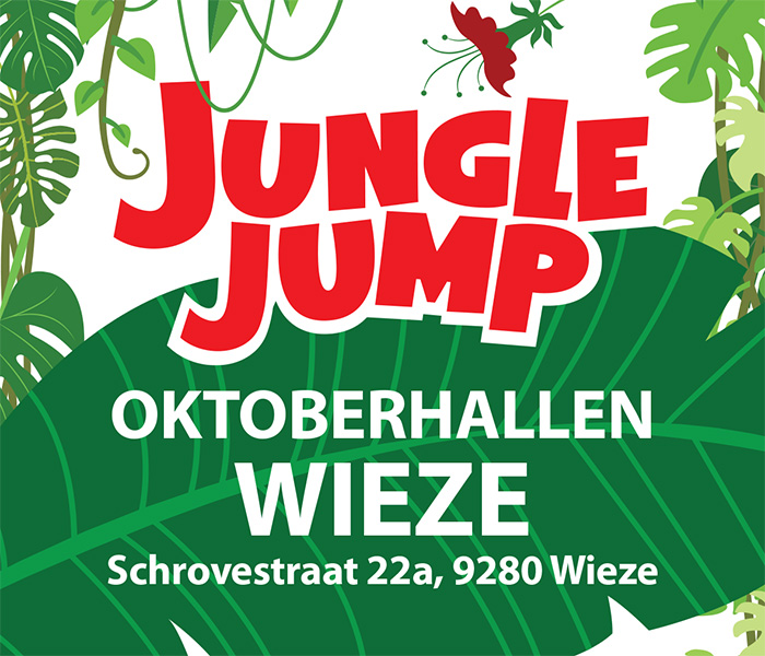 Jungle Jump Zomereditie (indoor hal A en outdoor)